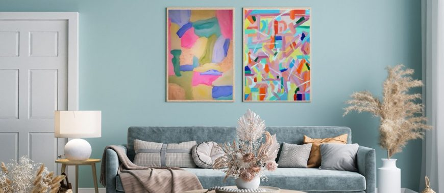 Zatista's Guide To Hanging Art Like a Pro
